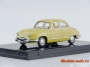 1954 Panhard Dyna Z1 Luxe Special (Pale Yellow) 1/43