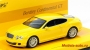 Bentley Continental GT «Linea Giallo» yellow 1/43