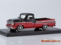 Dodge D 100 Sweptside Pick Up, black/red 1959 1/43