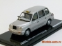 LONDON TAXI CAB TX1 1998 SILVER 1/43