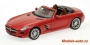 Mercedes-Benz SLS-Class AMG Roadster 2011 (Red metallic)1/18