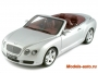BENTLEY CONTINENTAL GTC 2006 SILVER 1/18
