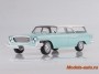 Chrysler Newport Town & Country Wagon,turquoise/white, 1962 1/18