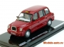 LONDON TAXI CAB TX1 1998 RED 1/43