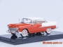 Chevrolet Bel Air Hard Top 1955г. - India Ivory / Gypsy Red 1/43