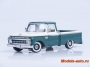 1966 Ford F-100 Custom Cab Pickup - Wimbledon White / Holly Gree