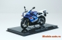 SUKUZI GSX-R 1000 Blue/Light Blue/White 1/24