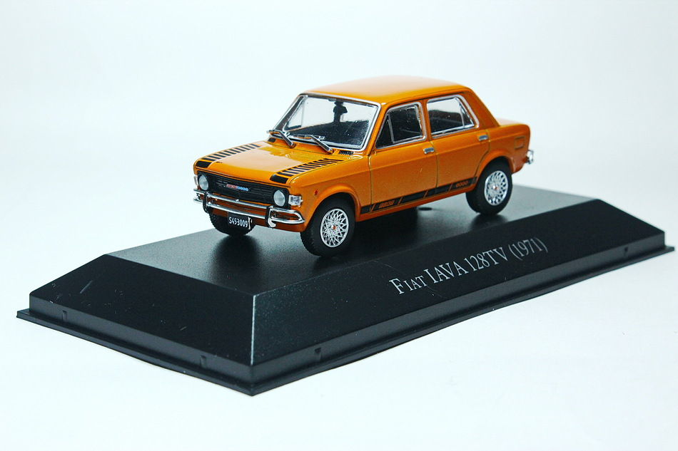 FIAT IAVA 128TV 1971 Orange