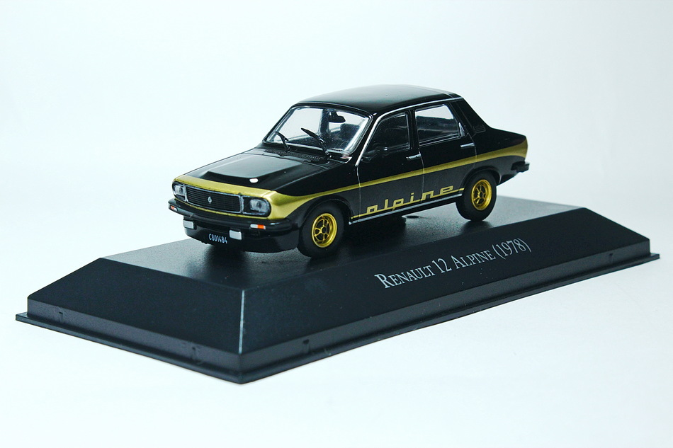 RENAULT 12 Alpine 1978 Black