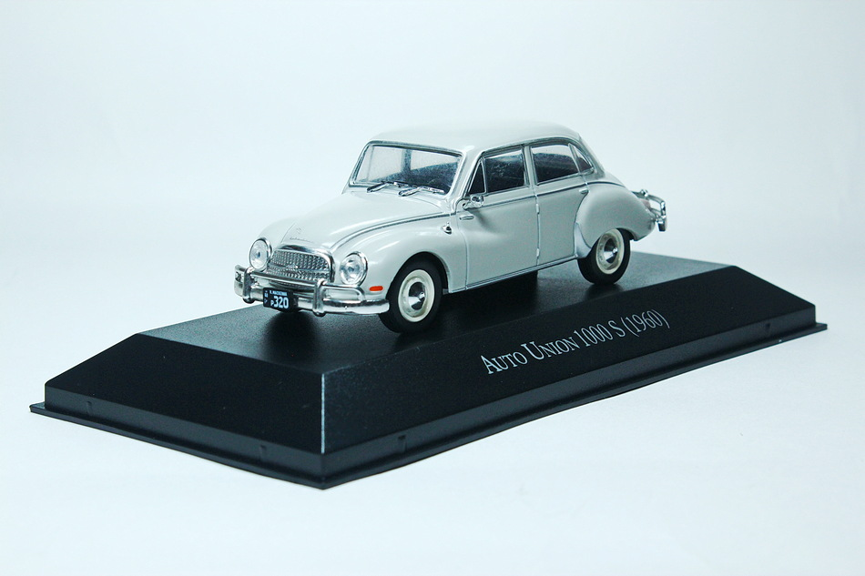 AUTO UNION 1000 S 1960 Light Grey