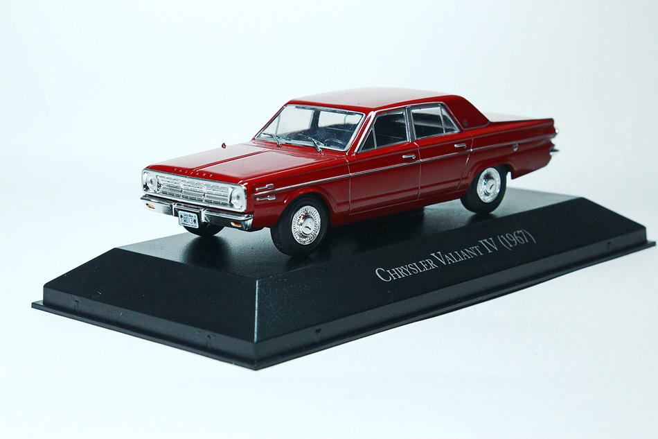 CHRYSLER Valiant IV 1967 Maroon