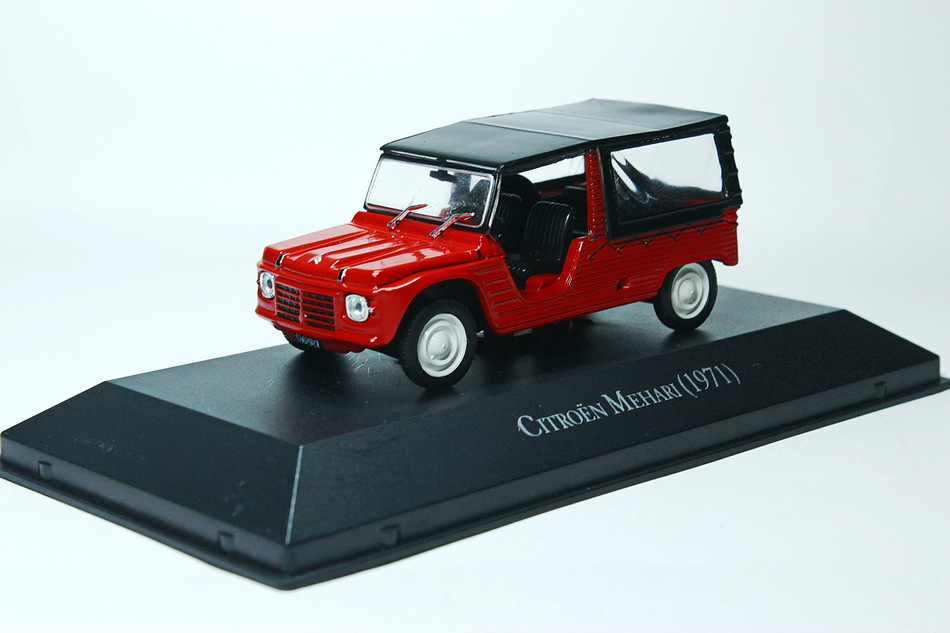 CITROEN Mehari 1971 Red/Black