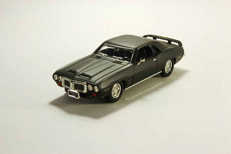 Pontiac Firebird Trans Am, matt-black 1969