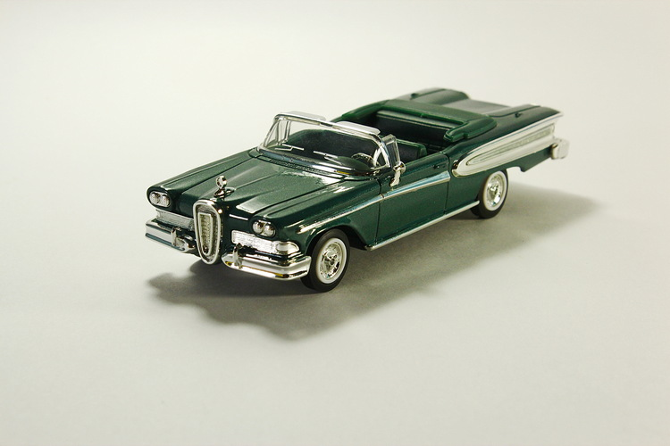 Edsel Citation, metallic-green 1958