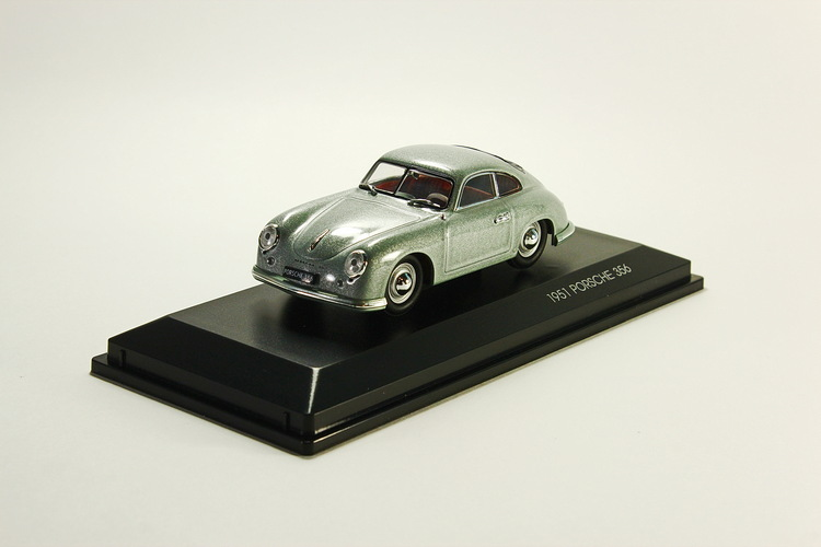 Porsche 356, metallic-gray 1951