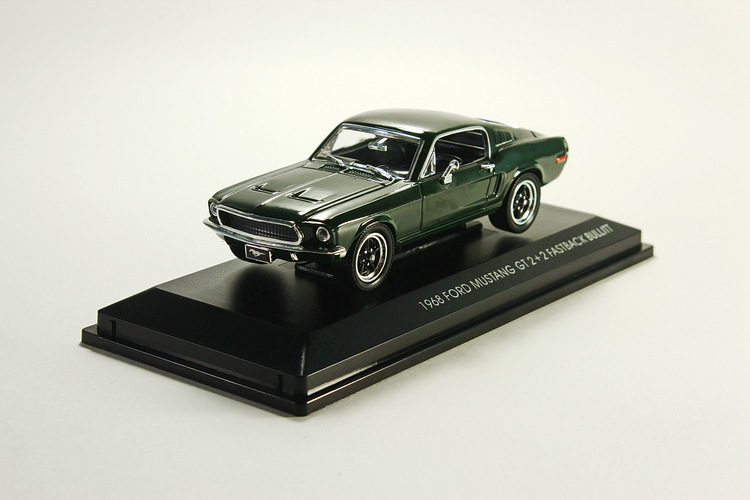 Ford Mustang GT 2+2 Fastback, dark green 1968