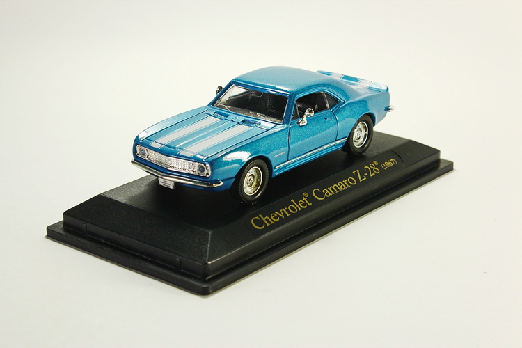 Chevrolet Camaro Z-28 metallic-blue 1967