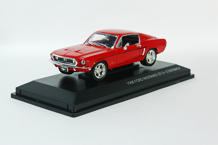 Ford Mustang GT 2+2 Fastback, red, 1968