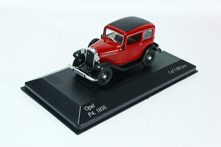 Opel P4, dark red/black, 1935