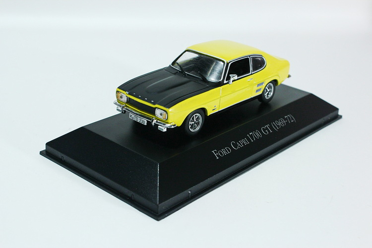 Ford Capri 1700 GT 1969 yellow/black