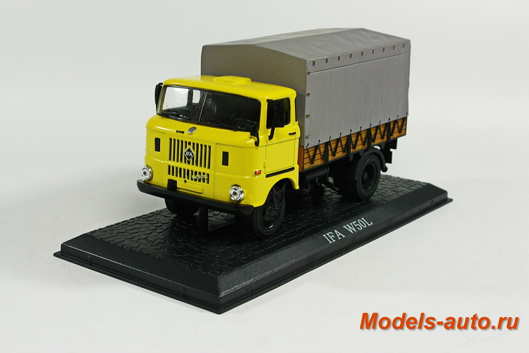 IFA W 50L 1965 Yellow/Grey