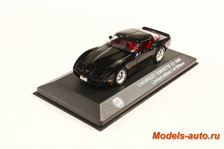 CHEVROLET Corvette C3 1980 Black