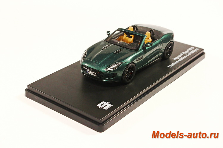 JAGUAR F-type V8 S 2014 Green