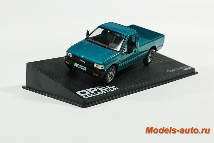 OPEL CAMPO Pick-up 1993-2001 Metallic Turquoise