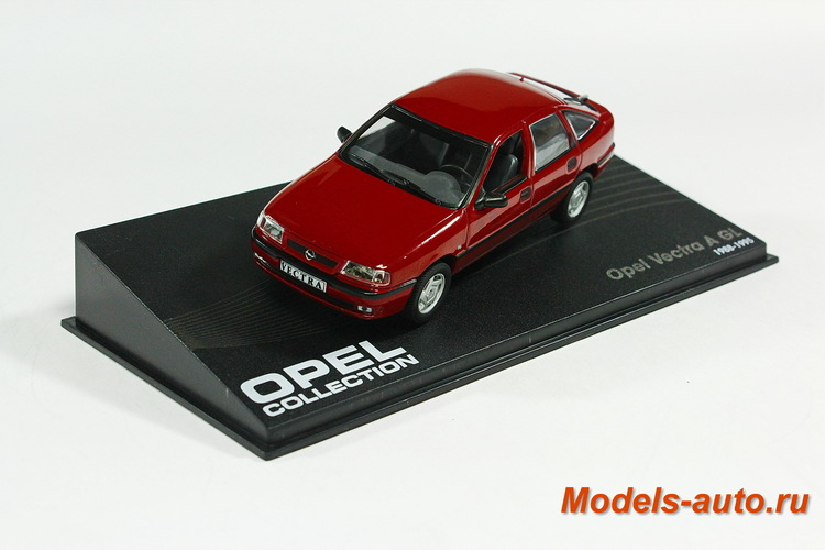 OPEL VECTRA 1988-1995 Dark Red