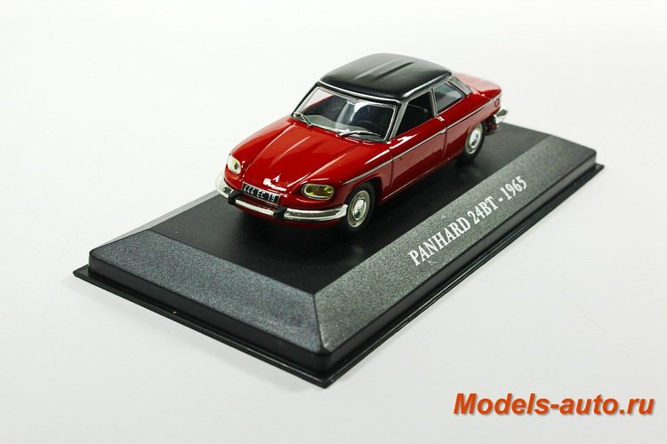 PANHARD 24BT 1965 Red/Black
