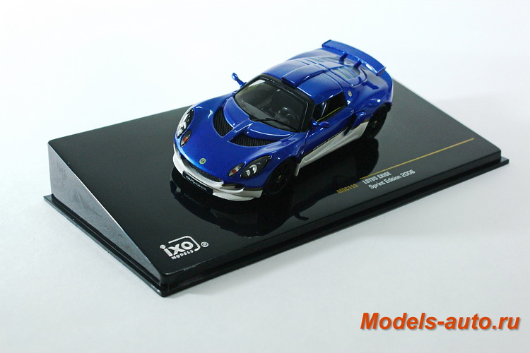 LOTUS EXIGE Sprint Edition 2006 Blue