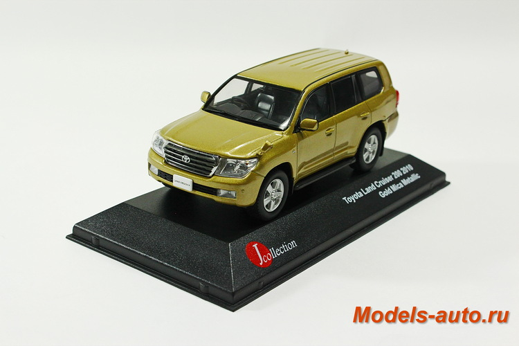 TOYOTA LAND CRUISER 200 2010 Gold Mica