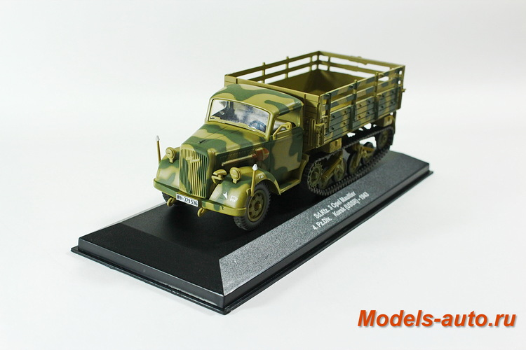 OPEL MAULTIER Sd.Kfz.3 4. Pz. Division Kурск 1943