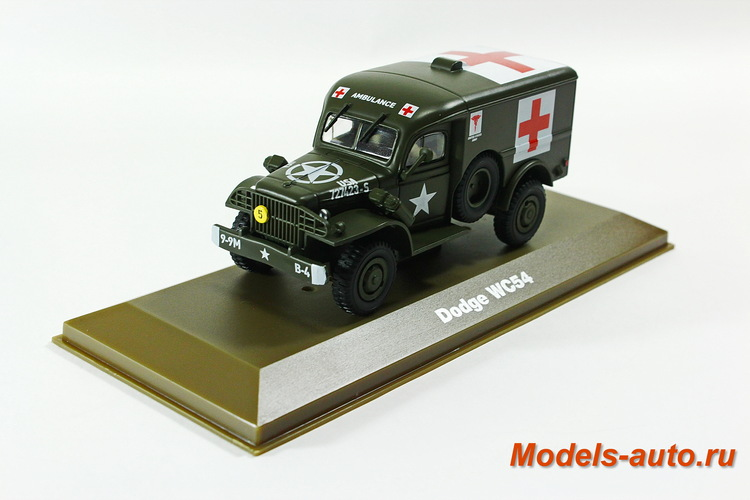 DODGE WC54 Military Ambulance 1945